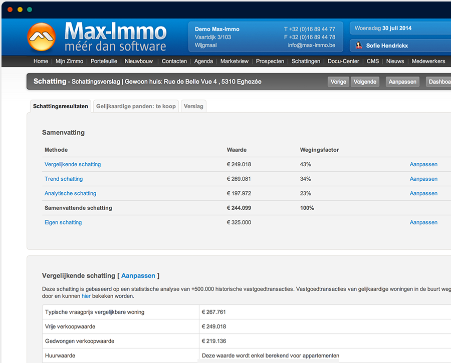 Max-Immo screenshot